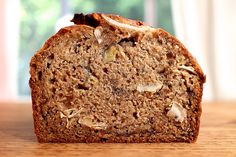 Brown Butter Banana Bread with Rum and Coconut