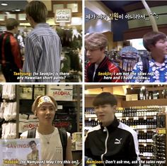 Come on namjin your kids just want your advice