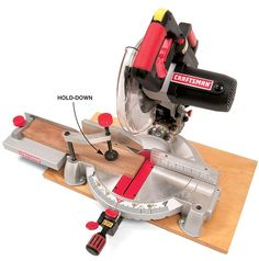 Tips for Mastering the Miter Saw 14 Ways to Make Safe, Accurate Cuts with No Tear-Out by Tom Caspar   At first glance, using a miter saw appears quite simple. But to get good results—that's another story! Here are a handful of techniques and jigs, for pieces large and small, to help you make absolutely straight, splinter-free cuts right on your layout lines.   Push Your Fence Back   …