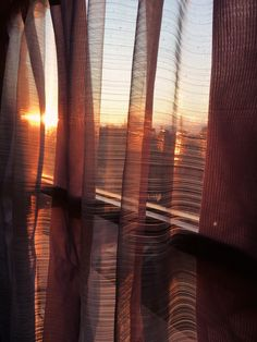 A beautiful sunrise in Tuscany behind see through curtains Orange Aesthetic, Sky Aesthetic, Aesthetic Images, Aesthetic Rooms, Aesthetic Photo, Aesthetic Pastel Wallpaper, Aesthetic Backgrounds, Aesthetic Wallpapers, Profile Pictures Instagram