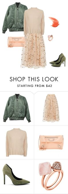 """you need white stuffs 2"" by yuri-writer on Polyvore featuring HUF, Valentino, Topshop, Balenciaga, Kendall + Kylie and Michael Kors"