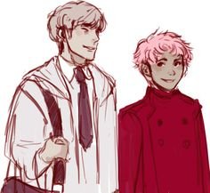 Remus and Tonks by unranunculus