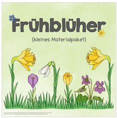 """Ideenreise: Kleines Materialpaket """"Frühblüher"""" (einfache Versi..."""