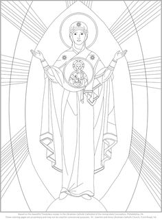 28 Best Byzantine Icon Coloring Pages Images In 2019 Byzantine