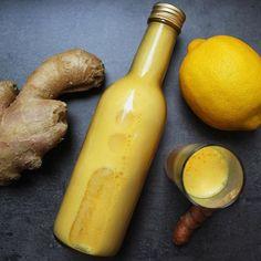 Der Herbst ist hier bei uns mittlerweile so richtig angekommen...und direkt tauchen auch die ersten Erkältungen auf. Mein liebstes Anti-Erkältungsmittel ist der Ingwer-Shot 👌 Das Rezept findet ihr auf dem Blog.