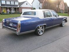 88 Cadillac Fleetwood Brougham*Custom *Lowered *DUB Wheels/New Tires, US $3,800.00, image 4