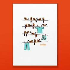 Orioles Print 10x14 from Shay Ometz and Jeff Barfoot co-founders of bee things $25.00 now featured on Fab.