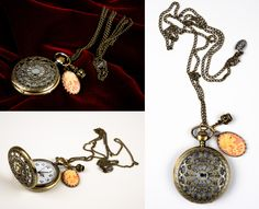 """Romantic Arabesqued Watch"" by Francesca Dani Jewels MyBones"