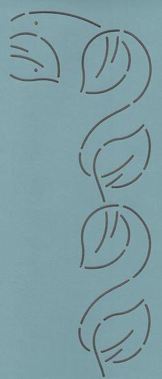 "Continuous Leaf 2"" - The Stencil Company"