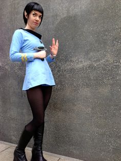 My Ms Spock cosplay
