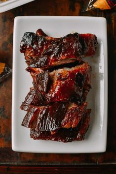 Chinese Rib Tips: Fall-Apart Tender Takeout-Style recipe by The Woks of Life Best Pork Ribs Recipe, Pork Rib Recipes, Asian Recipes, Chinese Recipes, Chinese Desserts, Chinese Spare Rib Tips Recipe, Smoker Recipes, Thai Recipes, Delicious Recipes
