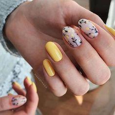 Frensh Nails, Hair And Nails, Punk Nails, Minimalist Nails, Best Acrylic Nails, Acrylic Nail Designs, Fruit Nail Designs, Nail Designs Spring, Nail Art Designs