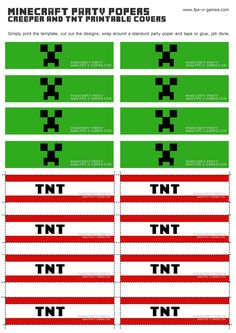 minecraft-party-popper-cover-creeper-tnt-templates.jpg 1,131×1,600 pixeles