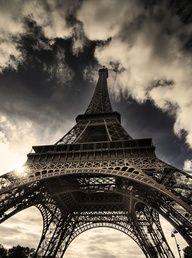 Eiffle Tower, Paris, France.