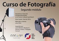 Curso de fotografía, segundo módulo del curso impartido por Michel Montero  #Curso de fotografía #Curso de fotografía segundo módulo Shopping, Photography Courses, Activities