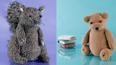 """Handmade fabric characters made by Maggie Rogers, Fred & Eric's Creative Director for """"A Little Cuddle"""" http://www.maggierogers.co.uk/design-and-direction/the-little-cuddle/"""