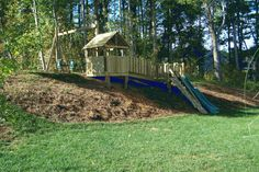 Backyard Playground | Hand Crafted Wooden Playsets & Swing Sets - Gallery