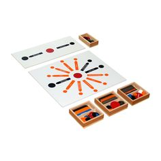Reading / Sentence Analysis Set from Montessori Outlet $50.95
