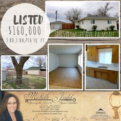 JUST LISTED!!!! Charming 3 Bd, 1 Ba home located in Palmdale!!!  #realestate #realtor #forsale #home #house #palmdale #michellejudd #michellejuddrealestate