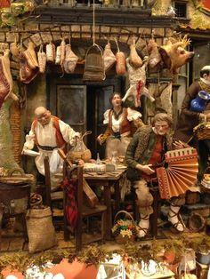 102x60x130 cm Casa Osteria Neapolitan Creche Crib Presepe Napoletano Balcone | eBay Christmas In Italy, Christmas Nativity, Roman Empire, Vignettes, Dollhouse Miniatures, Art Dolls, Photos, Pictures, Arts And Crafts