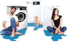 Ob bodenständig oder mit allen Wassern gewaschen – Huwa Waschgeräte für alle Bedürfnisse.  Huwa Geräte stehen für Langlebigkeit, Robustheit und technische Innovation. Für die meisten Huwa Kunden gilt: Einmal Huwa, immer Huwa. Ob Waschmaschine, Wäschetrockner, Geschirrspüler oder Raumlufttrockner, auf Huwa Geräte ist Verlass, denn sie verfügen über das höchste Qualitätssiegel: In der Schweiz produziert.höchste Qualitätssiegel: In der Schweiz produziert. Washing Machine, Innovation, Laundry, Home Appliances, Home Technology, Switzerland, Round Round, Laundry Room, House Appliances