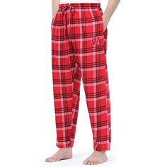 Men's Wisconsin Badgers Playoff Knit Lounge Pants ($11) ❤ liked on Polyvore featuring men's fashion, men's clothing, men's activewear, men's activewear pants, red and mens activewear pants