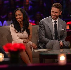'The Bachelor' recap: Nick Viall denies Rachel Lindsay a rose and breaks her heart after fantasy suite The Bachelor star Nick Viall eliminated Rachel Lindsay the franchise's next The Bachelorette star during Monday night's one-hour episode on ABC. #TheBachelor #TheBachelorette #RavenGates #RachelLindsay #NickViall @TheBachelor