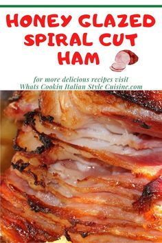 Honey Glazed Spiral Cut Ham