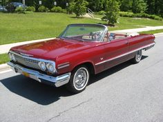 1963 chevy impala ss convertible - Google Search