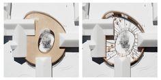 Image 10 of 11 from gallery of Horbelev Kulturgård / WERK. Steven Holl Architecture, Conceptual Model Architecture, Architecture Portfolio, Concept Architecture, Facade Architecture, School Architecture, Architecture Diagrams, Swimming Pool Architecture, Public Space Design