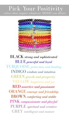 Choose the color that ignites your perfect #MOOD! New colors to #inspire your soul.