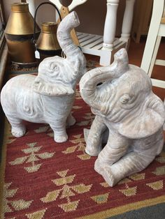 Our popular ceramic elephants both standing and sitting - also available in black Ceramic Elephant, Lovely Shop, Elephants, Home Accessories, Lion Sculpture, Ceramics, Statue, Popular, Black
