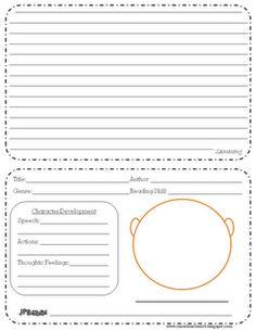 Reading Response Flip Book  http://www.teacherspayteachers.com/Product/Reading-Response-Flip-Book-REVISED  More Time 2 Teach