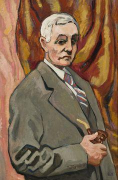 Louis Valtat, Self Portrait.