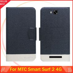 """5 Colors MTC Smart Surf 2 4G Case 5"""" Dedicated ultra-thin Flip Fashion Leather 100% Special Protective Phone Cover"""