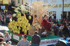 53° edizione della Festa dell'Uva - Sfilata dei carri allegorici 2010