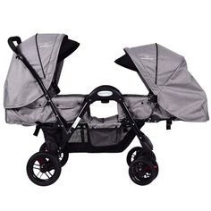 Foldable Face to Face Twin Baby Stroller Double Kids Infant Reclining Seats Gray for sale online Double Stroller For Toddlers, Double Baby Strollers, Toddler Stroller, Twin Strollers, Twin Toddlers, Twin Babies, Infant Toddler, Toddler Twins, Toddler Dolls