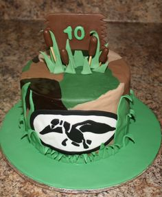 Duck Dynasty cake by KB Cakes www.kbcakes.me