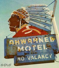 Colfax Avenue: The Ahwahnee Motel sign Still Lives!