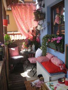Belos e adoráveis espaços para relaxar!