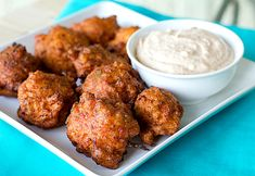 Conch fritters remind me of Key West/the Bahamas, either way it's a good memory! Biscotti, Seafood Recipes, Cooking Recipes, Conch Recipes, Cajun Recipes, Cooking Ideas, Yummy Recipes, Vegan Recipes, Gourmet