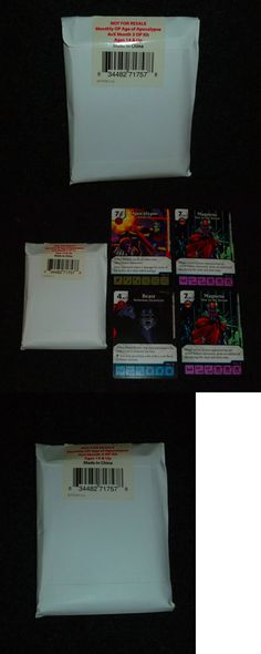 CCG Mixed Card Lots 183455: Marvel Dice Masters - Month 3 Op Kit - Age Of Apocalypse - Beast Magneto - Avx -> BUY IT NOW ONLY: $45 on eBay!