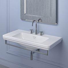 Wall-mount sink free