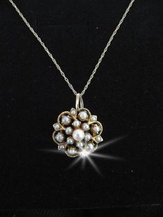 Late Victorian pearl gold antique pendant AN043 bridal jewellery Bridal Jewellery, Jewelry, Wedding Accessories, Victorian, Pearls, Vintage, Diamond, Antiques, Pendant