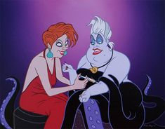 Sweet Disney Princesses Stalked By Villains From Hell