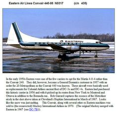 Eastern Airlines Convair-440-86