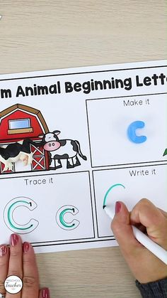 Save time planning with these comprehensive farm theme lesson plans full of farm activities for prekindergarten.