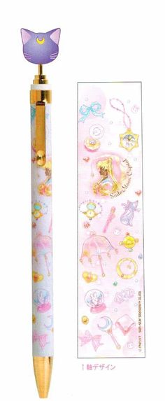 Sailor Moon Crystal Ball Point Pen (Luna)
