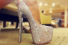 Wonderful Sequin Pumps