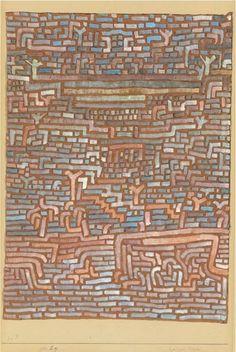 Paul Klee, Holy place on ArtStack #paul-klee #art